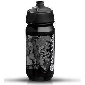 rie:sel design bot:tle 500ml stickerbomb ultra black | black